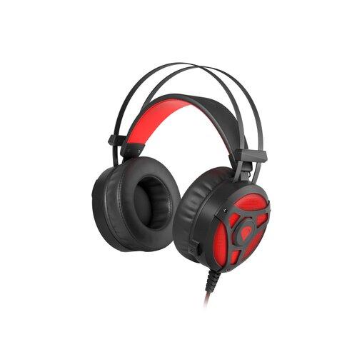 Genesis Neon 360 Stereo herné slúchadlá Červeno-čierne