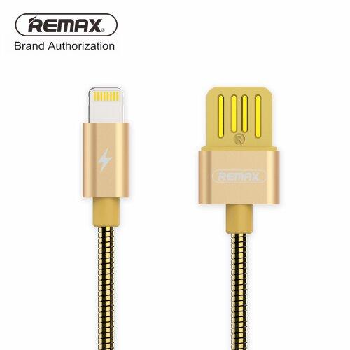Remax RC-080i Serpent Dátový Kábel Lightning Zlatý