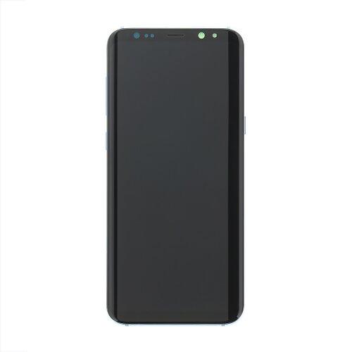 Samsung G955 Galaxy S8 Plus - LCD Displej + Dotyková Plocha - Modrý (Service Pack)