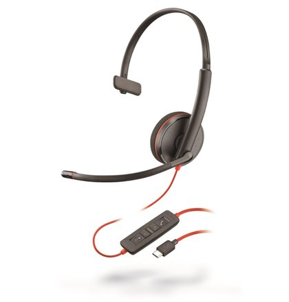 Plantronics Blackwire C3210, Mono, USB-C
