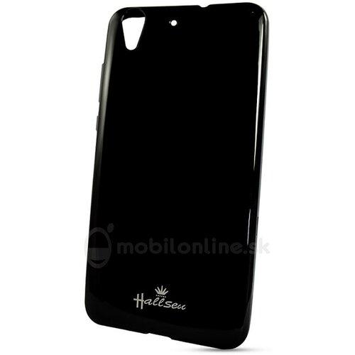 Puzdro Huawei Y6 II Halssen Jelly silikón - čierne
