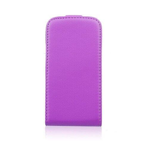 Asus Zenfone 5 flexi knižkové puzdro fialové