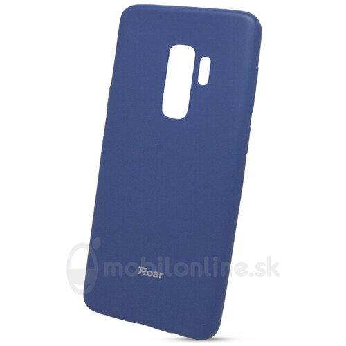 Puzdro Roar Jelly Colorful TPU Samsung Galaxy S9+ G965 - modré