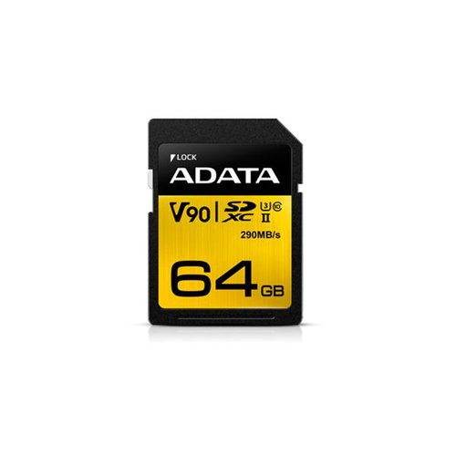 SDXC/SDHC karta A-DATA 64GB Premier ONE UHS-II class 10 Ultra High Speed