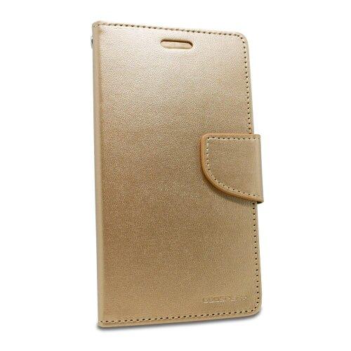 Puzdro Mercury Bravo Diary Book iPhone X/Xs - zlaté