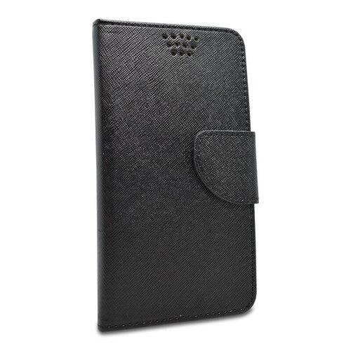 Puzdro Fancy Book Universal 5,5-5,7 80x160mm - čierne
