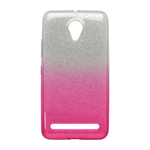 Puzdro Shimmer TPU Lenovo Vibe C2/C2 Power - ružové
