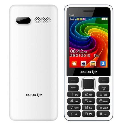 Aligator D940 Dual SIM, Biely