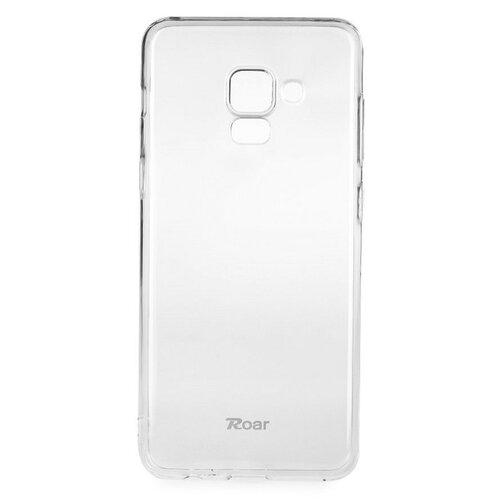 Puzdro Roar Jelly TPU Samsung Galaxy A8 2018 A530 - transparentné