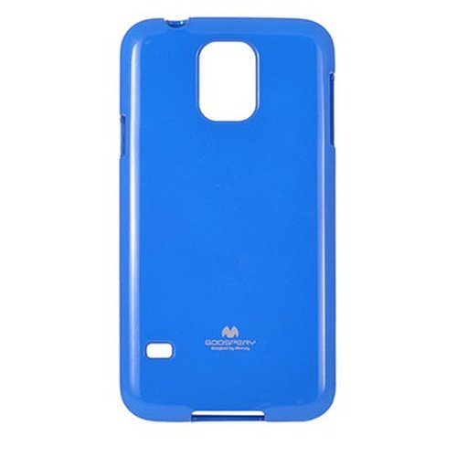 Puzdro Mercury Jelly TPU Samsung Galaxy S5 mini G800 - modré