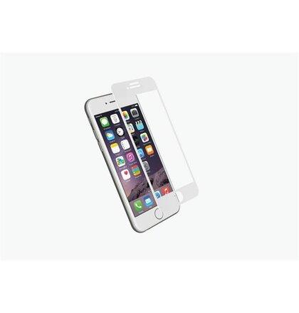 Cygnett 3D Temperované sklo 9H RealCurve pre iPhone 7 Plus, na celý displej a okraje, biely rám