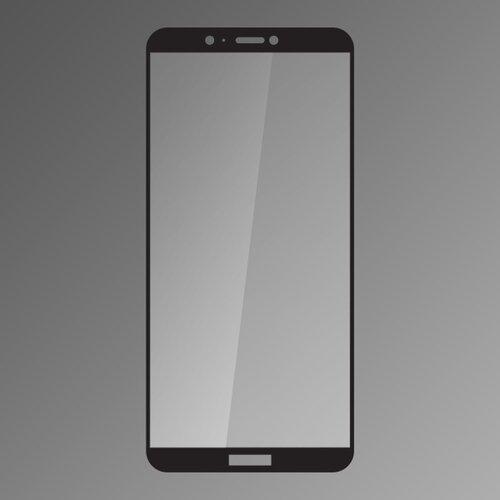 Ochranné sklo Q 9H Huawei P Smart celotvárové - čierne