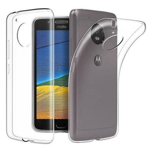 Puzdro NoName TPU Motorola Moto E4 Plus - transparentné