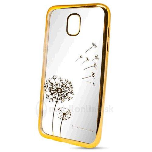 Puzdro Diamond TPU Samsung Galaxy J3 J330 2017 púpava - zlaté