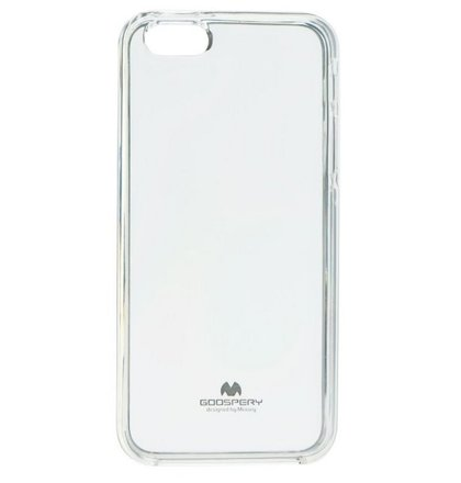 Puzdro Mercury Jelly TPU iPhone 5/5s/SE - transparentné