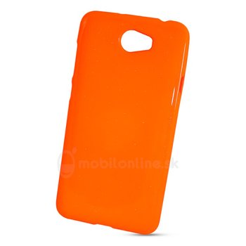 Puzdro Huawei Y5 II/Y6II Compact TPU Jelly Flash Fluorescent, oranžové
