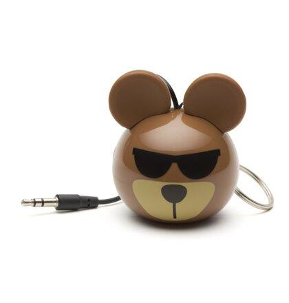Reproduktor KITSOUND Mini Buddy Bear, 3,5 mm jack