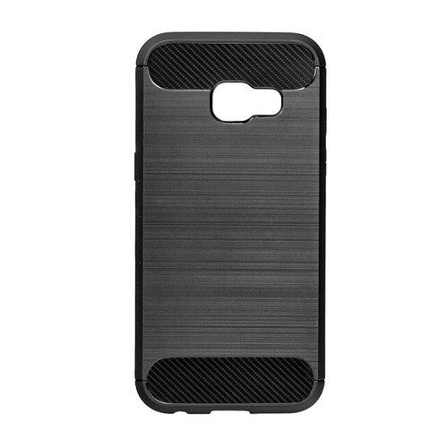 Puzdro Carbon Lux TPU Samsung Galaxy A3 A320 2017 - čierne