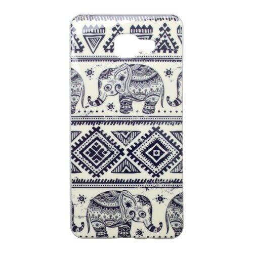 Puzdro NoName Samsung Galaxy A5 A510 2016 vzor slon