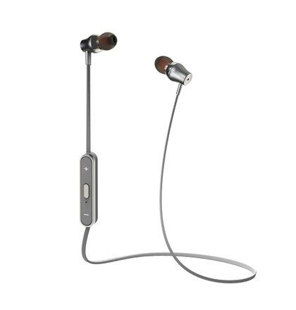 Bluetooth Stereo slúchadlá CELLY, strieborná