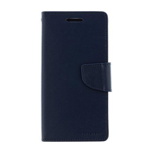 Puzdro Mercury Bravo Diary Book iPhone X/Xs - modré