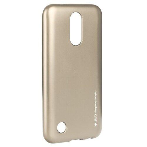 Puzdro Mercury i-Jelly TPU LG K10 2017 M250n - zlaté