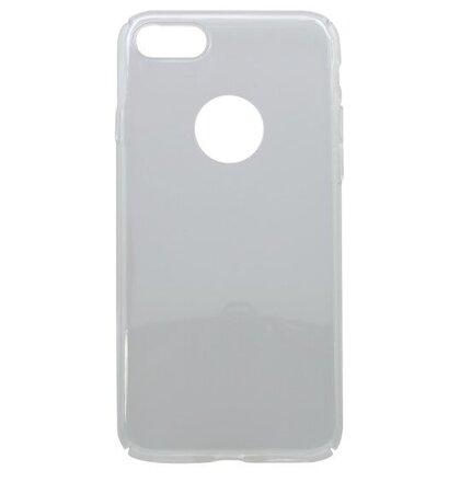 Hladké plastové puzdro Slim iPhone 7/8, priehľadné