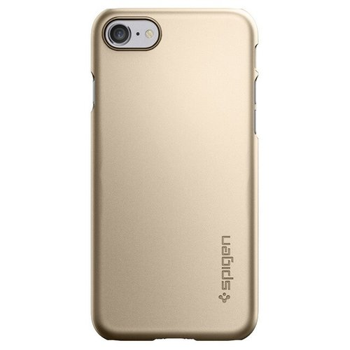 Puzdro Spigen Thin Fit iphone 7/8 - zlaté (bulk)