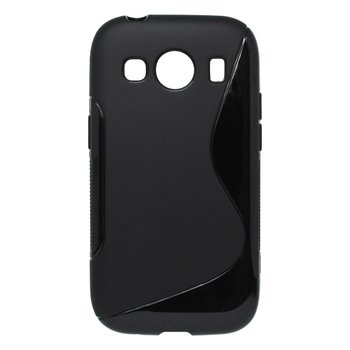 Puzdro S-Line TPU Samsung Galaxy Ace 4 G357 - čierne