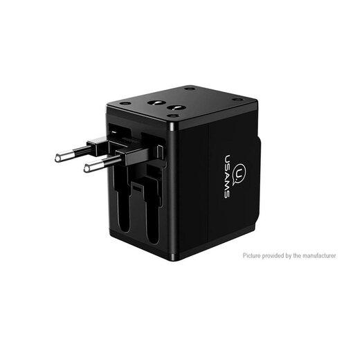 USAMS CC44 Multi Travel Adapter (6A) 4v1 USA/AU/EU/UK