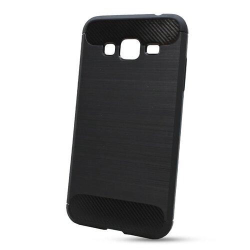 Puzdro Carbon Lux TPU Samsung Galaxy J3 J320 2016 - čierne