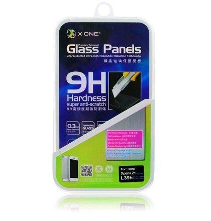 Tvrdené sklo X-ONE na IPHONE 4/4S tvrdosť H9 0,3mm