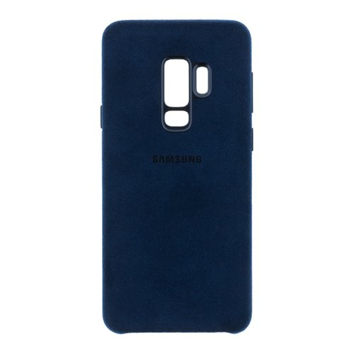 EF-XG965ALE Samsung Alcantara Cover Blue pro G965 Galaxy S9 Plus (EU Blister)