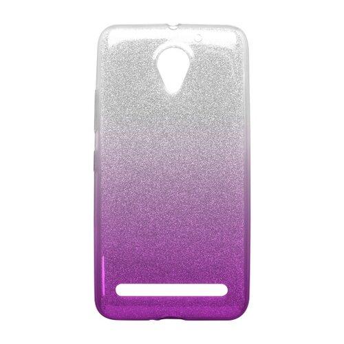 Puzdro Shimmer TPU Lenovo Vibe C2/C2 Power - fialové