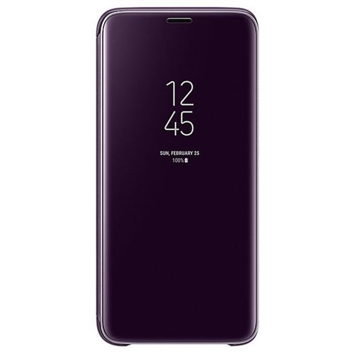 EF-ZG960CVE Samsung Clear View Cover Orchid Gray pro G960 Galaxy S9 (EU Blister)