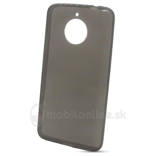 Puzdro NoName TPU 0,3mm Motorola Moto E4 Plus - čierne