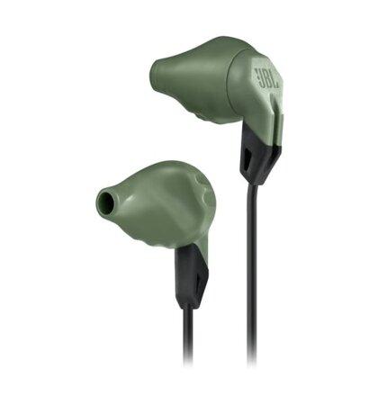 Športové sluchadlá JBL Grip 100, tmavo-zelené Olive