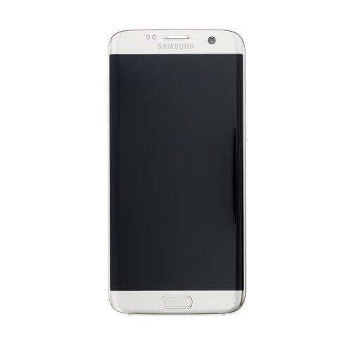 Samsung G935 Galaxy S7 Edge - LCD Displej + Dotyková Plocha - Strieborný (Service Pack)