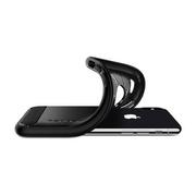 Puzdro Spigen Rugged Armor iPhone X/Xs - čierne