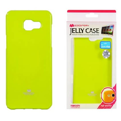 Puzdro Mercury Jelly TPU Samsung Galaxy A5 A510 - limetkové