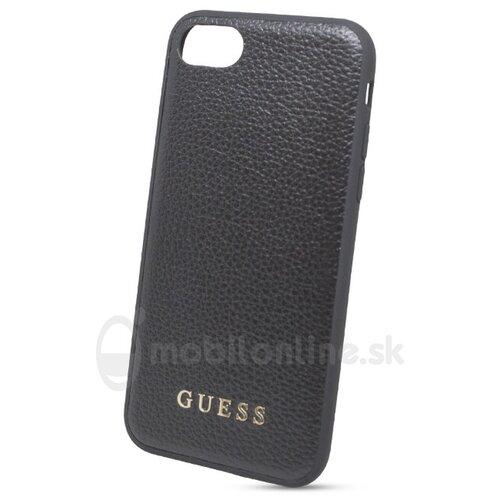 Puzdro Guess pre iPhone 7/8/SE2020 GUHCI8GLBK silikónové, čierne