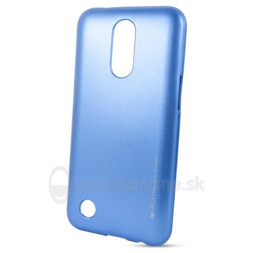 Puzdro Mercury i-Jelly TPU LG K10 2017 M250n - modré