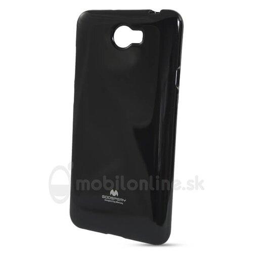 Puzdro Jelly Mercury TPU Huawei Y5 II/Y6 II Compact - čierne