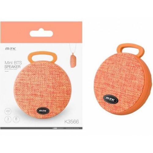 Bluetooth Mini Reproduktor PLUS K3566 Oranžový