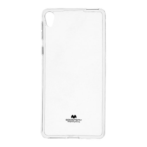 Puzdro Mercury Jelly TPU Sony Xperia E5 F3311 - transparenté