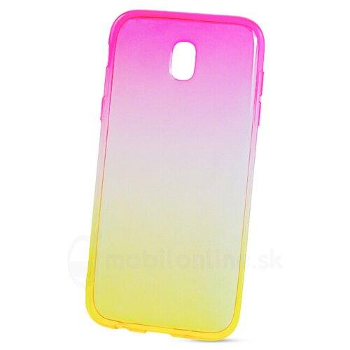 Puzdro Shadow Electro TPU Samsung Galaxy J5 J530 2017 - ružovo-zlaté