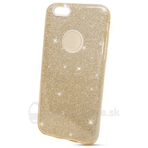 Puzdro 3in1 Shimmer TPU iPhone 6/6s - zlaté