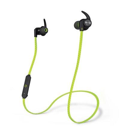 Sluchátka CREATIVE Outlier Sport Wireless, green