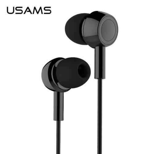 USAMS EP-12 Stereo slúchadlá Čierne