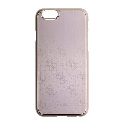 Puzdro Guess pre iPhone 6/6S GUHCP6MEPI silikónové, ružové